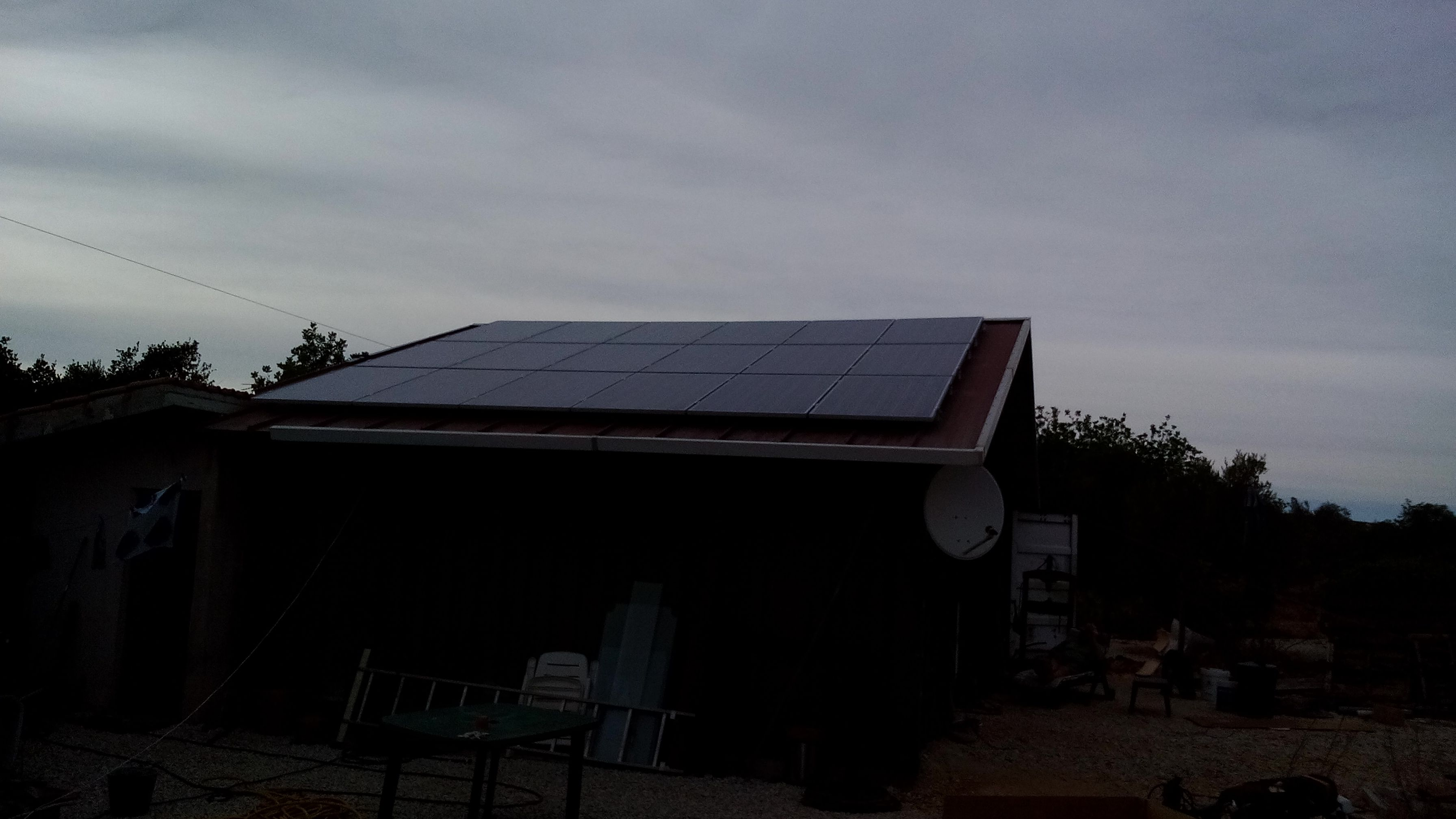Small Off Gird Solar System